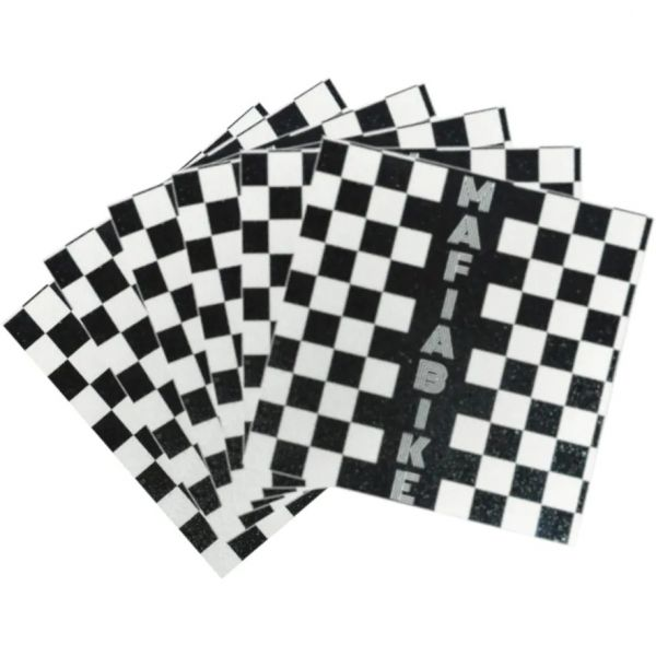 Mafiabike Bike Life Mafia BMX Peg Grip Tape - Black/White Checkered