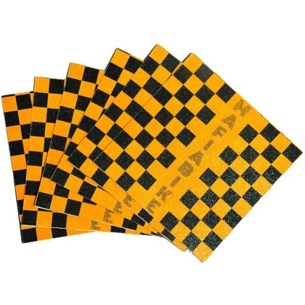 Mafiabike Bike Life Mafia BMX Peg Grip Tape - Yellow/Black Checkered