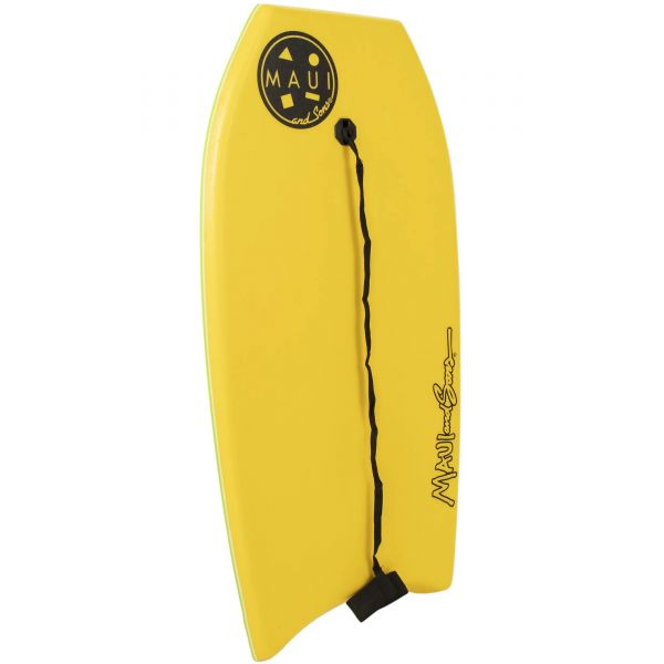 Maui and Sons Cookie Bodyboard - Yellow 37''
