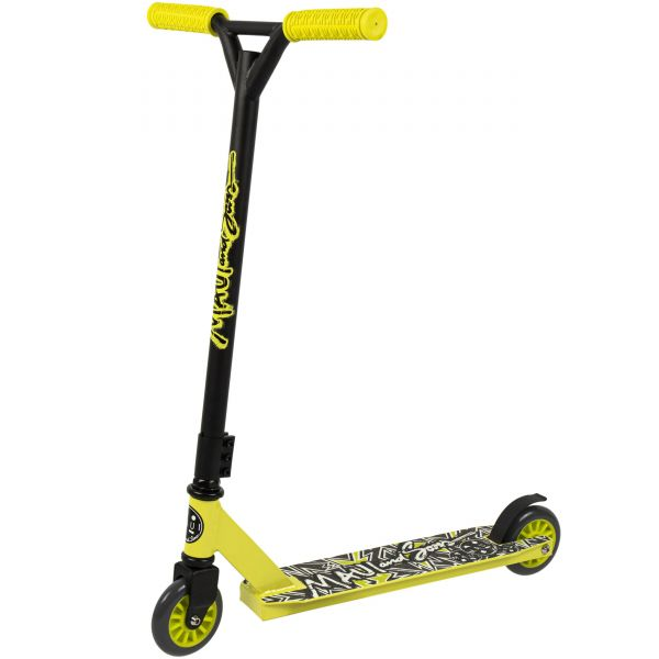 Maui and Sons Destroyer Kids Stunt Scooter - Yellow/Black