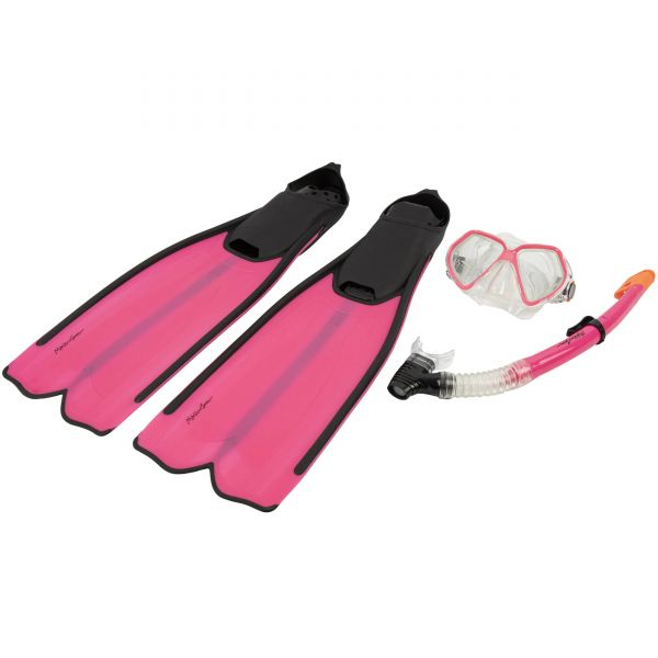 Maui and Sons Leisure 3-Piece Snorkel Set - Pink