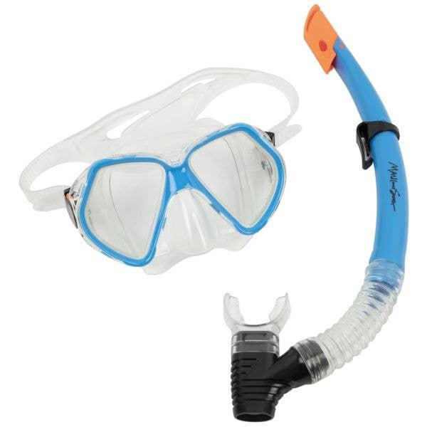 Maui and Sons Leisure Snorkel Set - Blue