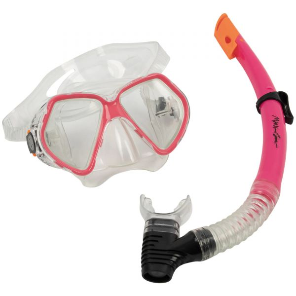 Maui and Sons Leisure Snorkel Set - Pink