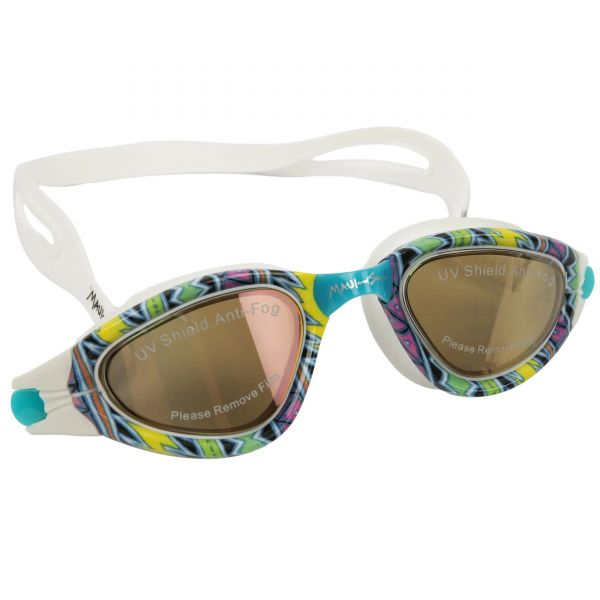 Maui and Sons Radness Printed Swimming Goggles - Blue Multi