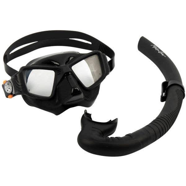 Maui and Sons Vortex Snorkel Set - Black