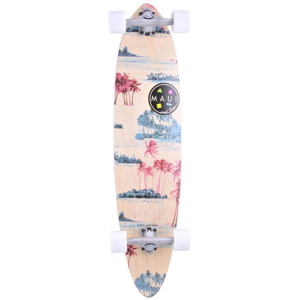 Maui and Sons Drifter Pintail Complete Longboard - 39''