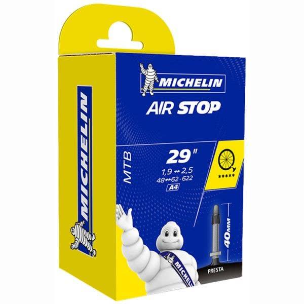 Michelin Airstop 29 (622mm) x 1.9 - 2.5 Presta (40mm) Inner Tube