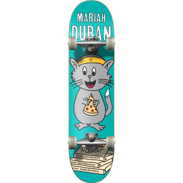 Meow Mariah Duran Whiskers Complete Skateboard 8''