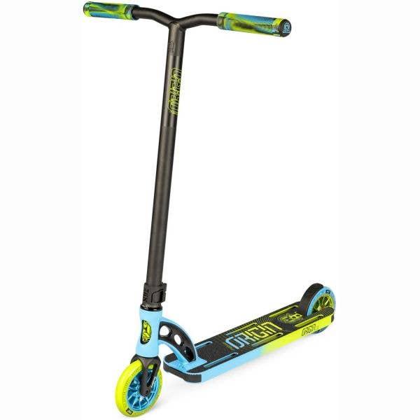 MGP VX Origin Pro 4.5'' Stunt Scooter - Blue/Lime