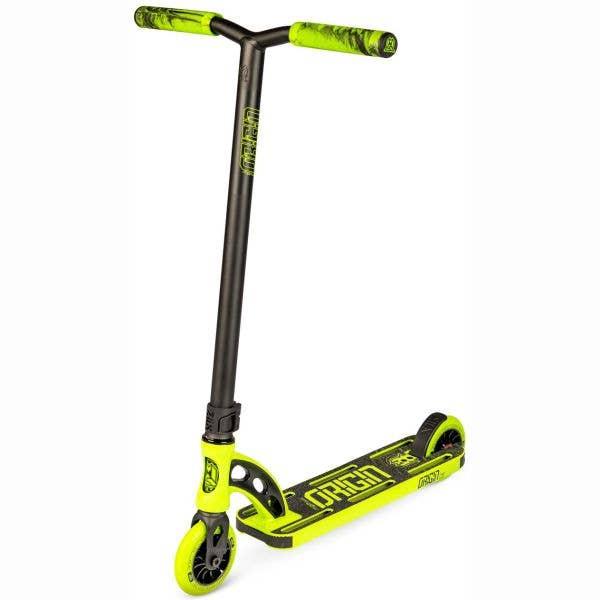 MGP VX Origin Shredder Pro 4.5'' Stunt Scooter - Lime/Black
