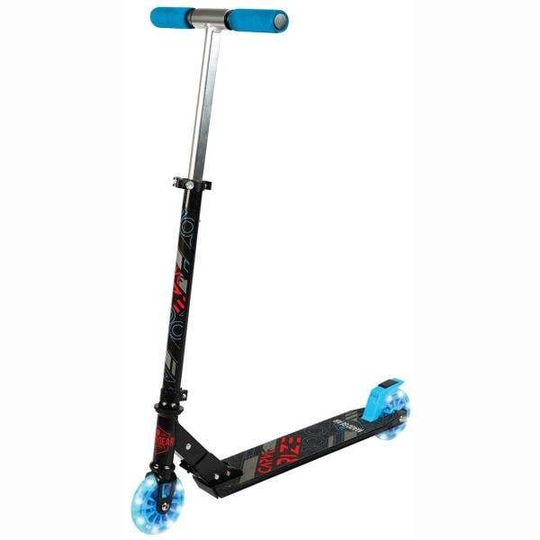 Madd Gear Carve Rize Folding Scooter - Black/Blue