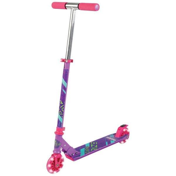 Madd Gear Carve Rize Folding Scooter - Purple/Pink