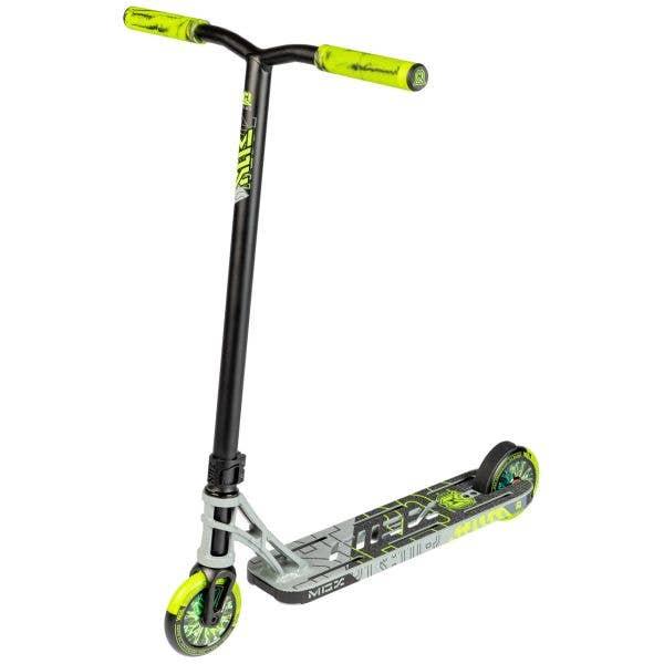 MGP MGX P1 Pro 4.5'' Stunt Scooter - Grey/Lime