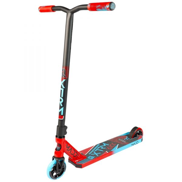 Madd Kick Extreme V5 Stunt Scooter - Red/Blue