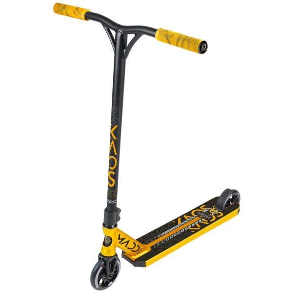 Madd Kick Kaos V3 Stunt Scooter - Gold/Black