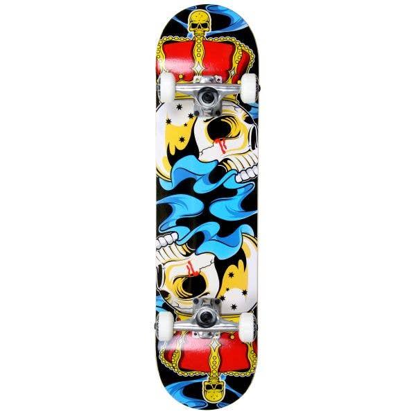 MGP Gangsta Series Complete Skateboard - Crowned 7.75''