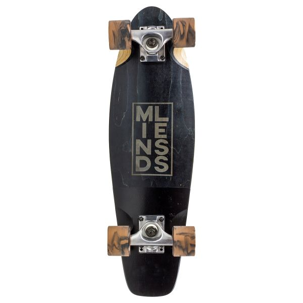 Mindless Stained Daily III Complete Cruiser - Black 24''