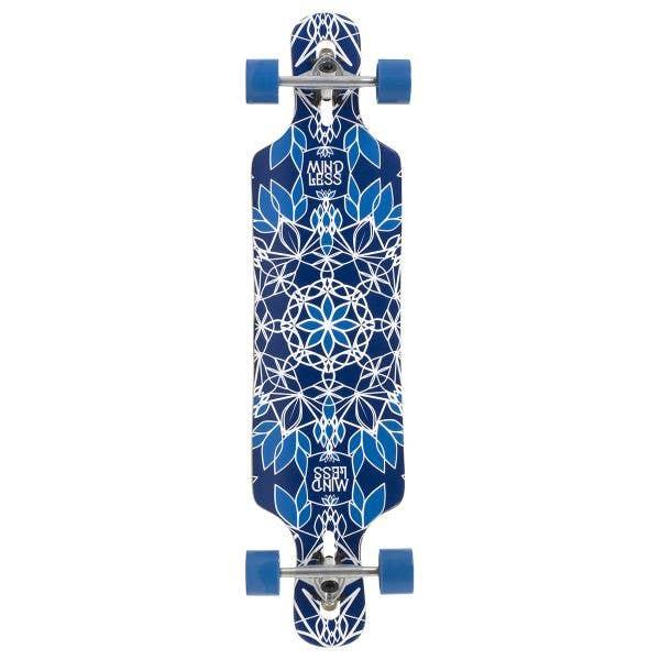 Mindless Sanke III Complete Longboard - Blue 39''
