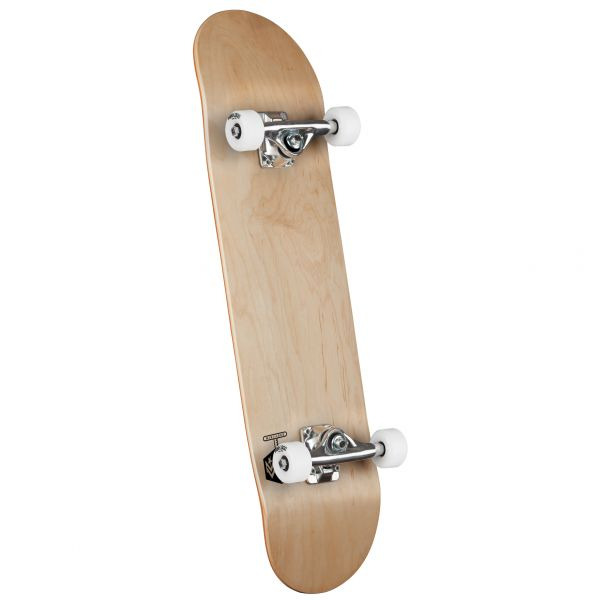 Mini Logo Chevron Detonator Birch #242 Complete Skateboard - Natural 8''