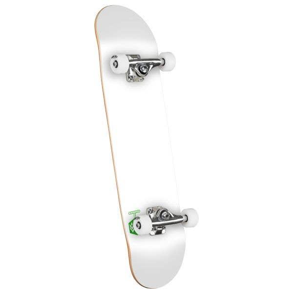 Mini Logo Chevron Detonator Birch #291 Complete Skateboard - Solid White 7.75''