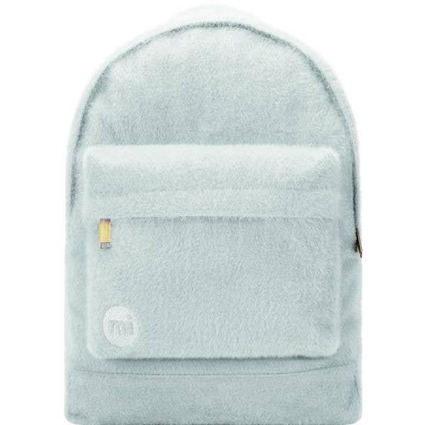 Mi-Pac Fur Backpack - Light Grey