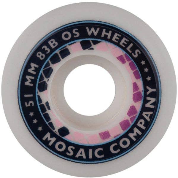 Mosaic Stars Skateboard Wheels - 51mm