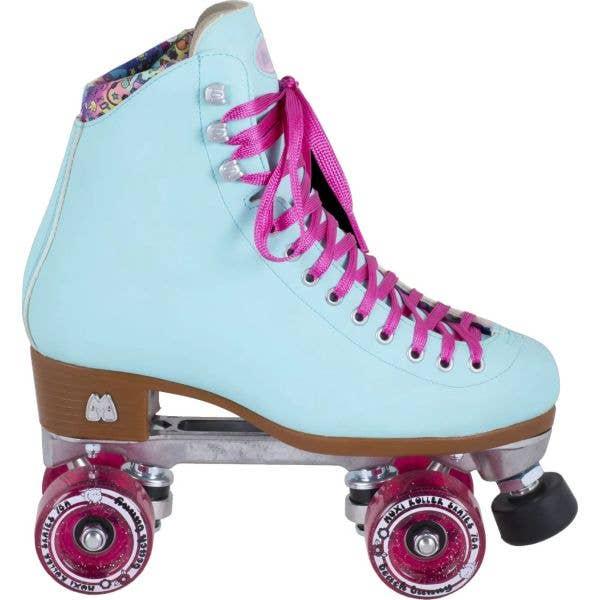 Moxi Beach Bunny Quad Roller Skates - Sky Blue