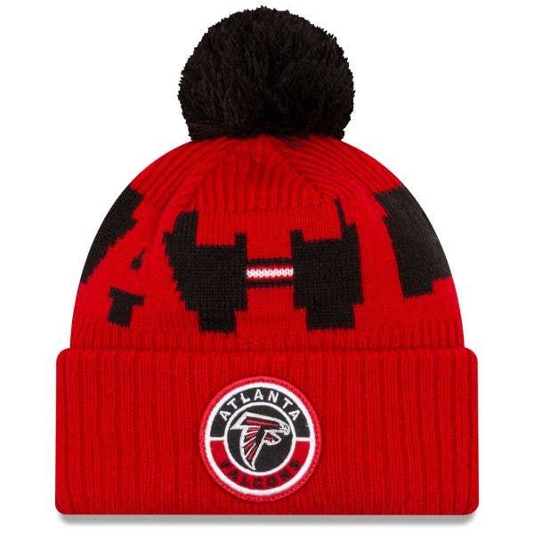 New Era Atlanta Falcons NFL Cold Weather Sport Knit Beanie - Original Team Colours