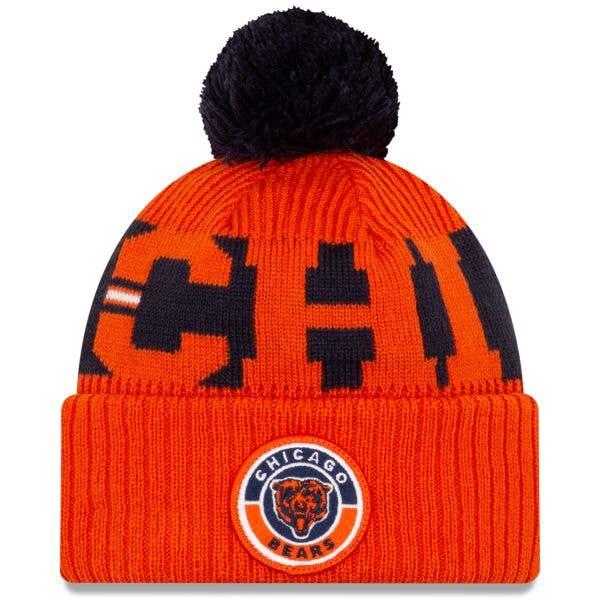 New Era Chicago Bears NFL Cold Weather Sport Knit Beanie - Original Team Colours