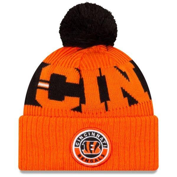 New Era Cincinnati Bengals NFL Cold Weather Sport Knit Beanie - Original Team Colours