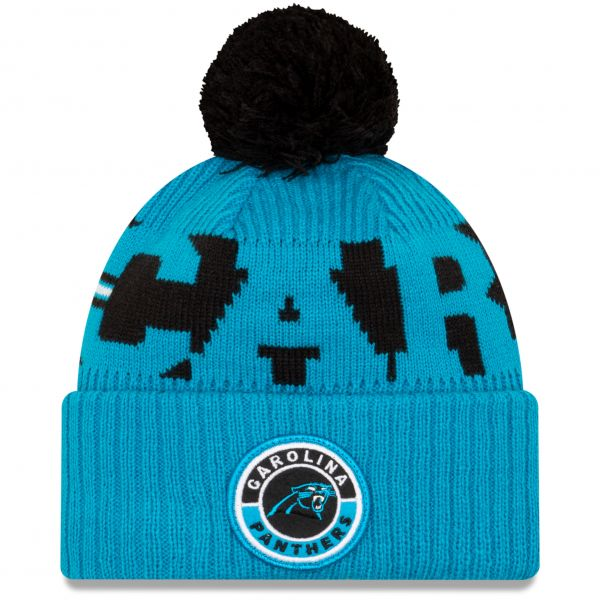 New Era Carolina Panthers NFL Cold Weather Sport Knit Beanie - Original Team Colours