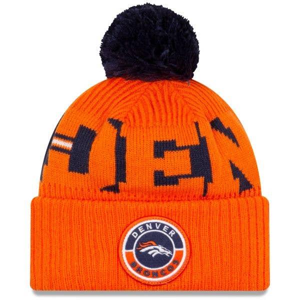 New Era Denver Broncos NFL Cold Weather Sport Knit Beanie - Original Team Colours