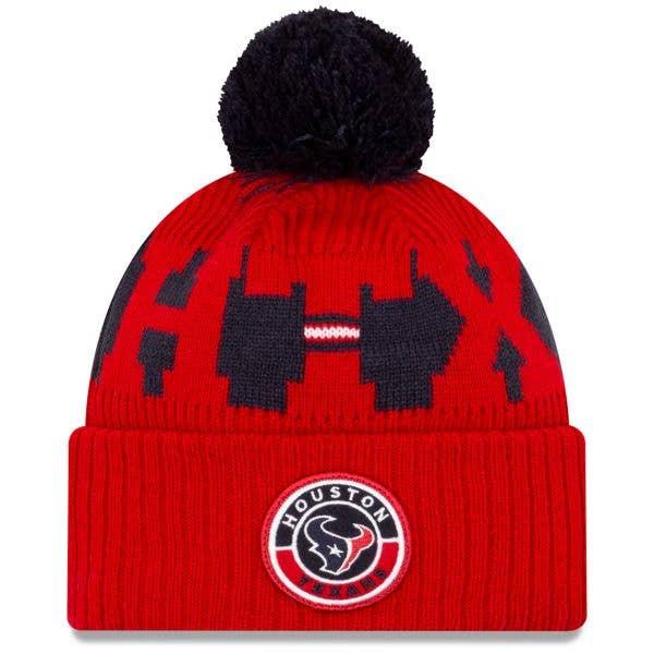 New Era Houston Texans NFL Cold Weather Sport Knit Beanie - Original Team Colours