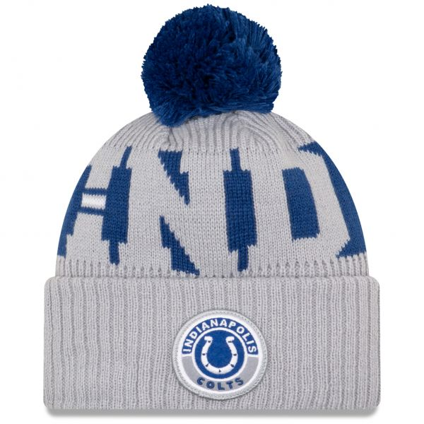 New Era Indianapolis Colts NFL Cold Weather Sport Knit Beanie - Original Team Colours