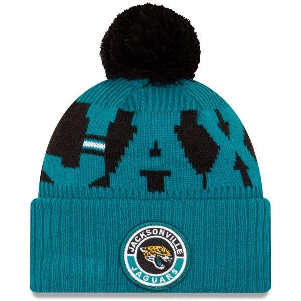 New Era Jacksonville Jaguars NFL Cold Weather Sport Knit Beanie - Original Team Colours