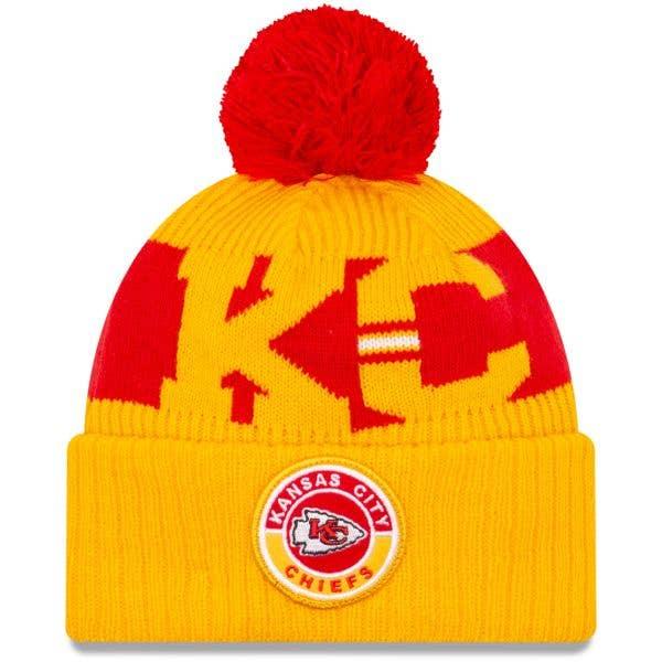 New Era Kansas City Chiefs NFL Cold Weather Sport Knit Beanie - Original Team Colours