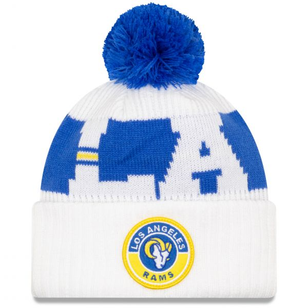 New Era Los Angeles Rams NFL Cold Weather Sport Knit Beanie - Original Team Colours