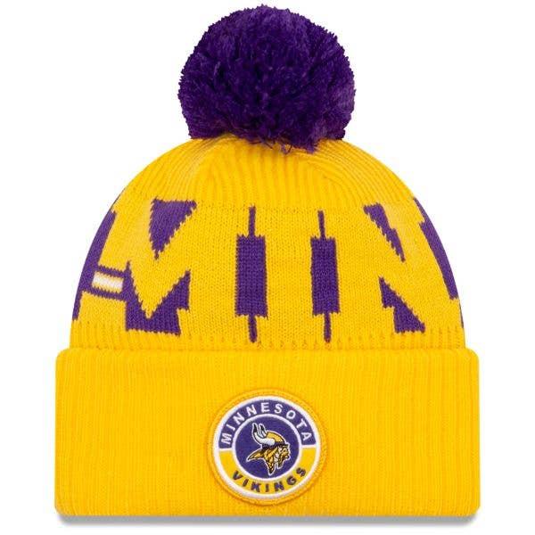 New Era Minnesota Vikings NFL Cold Weather Sport Knit Beanie - Original Team Colours