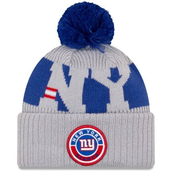 New Era New York Giants NFL Cold Weather Sport Knit Beanie - Original Team Colours
