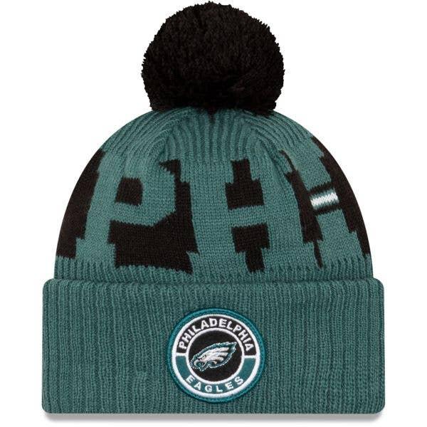 New Era Philadelphia Eagles NFL Cold Weather Sport Knit Beanie - Original Team Colours