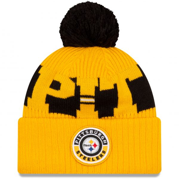 New Era Pittsburgh Steelers NFL Cold Weather Sport Knit Beanie - Original Team Colours