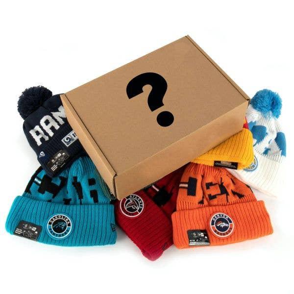 New Era NFL Sideline 3 Beanie Mystery Box