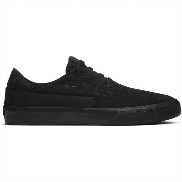 Nike SB Shane Skate Shoes - Black/Black-Black-Black