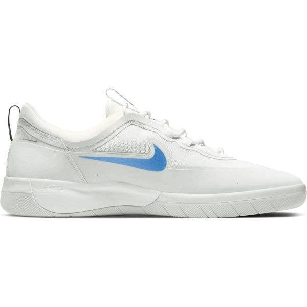 Nike SB Nyjah Free 2.0 Skate Shoes - Summit White/Blue Hero-Chile Red-Black
