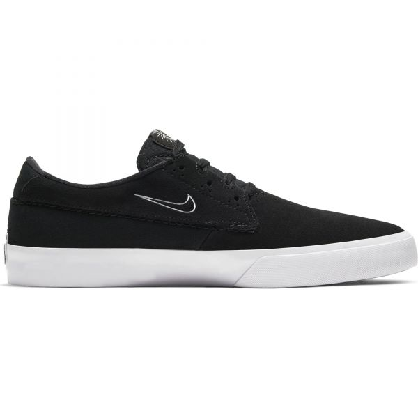 Nike SB Shane Skate Shoes - Black/White-Black