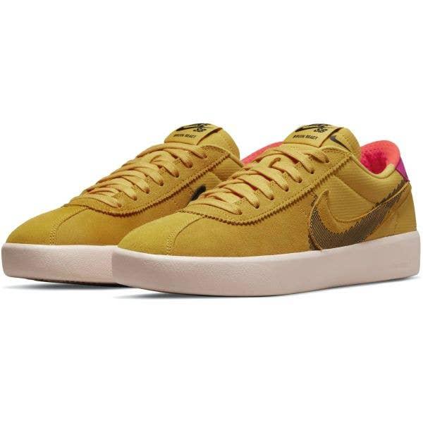 Nike SB Bruin React T Skate Shoes - Pollen/Black-Pale Coral