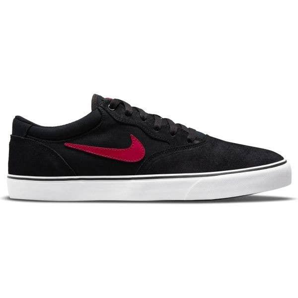 Nike SB Chron 2 Skate Shoes - Black/University Red-Black-White