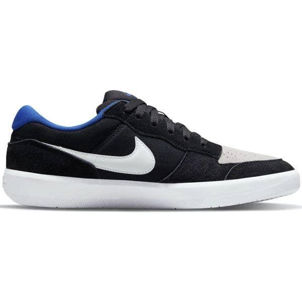 Nike SB Force 58 Skate Shoes - Black/Photon Dust-Sport Royal