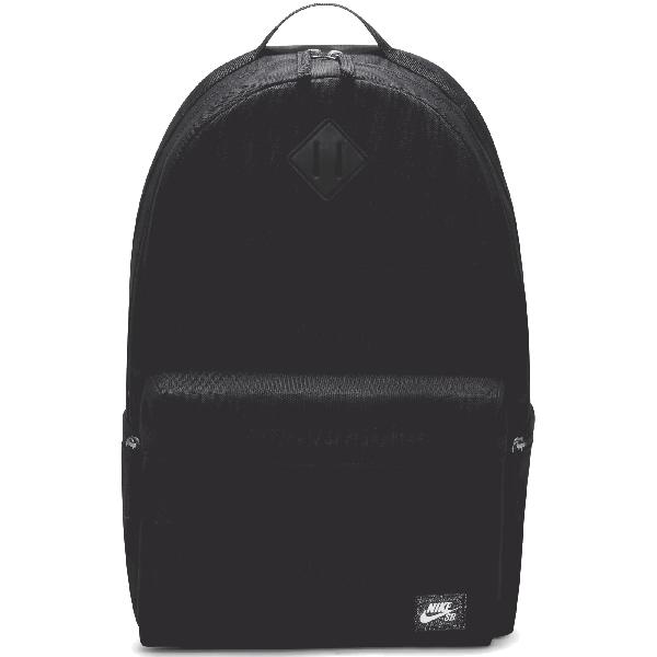 Nike SB Icon 26L Backpack - Black/Black/White
