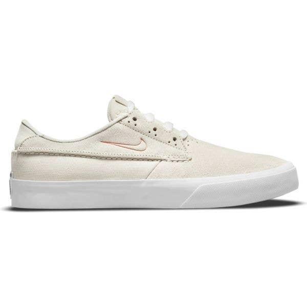 Nike SB Shane Skate Shoes - Summit White/Pink Salt-Summit White